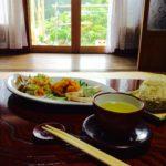 抹茶と朝ごはん