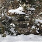 矢部村の雪模様